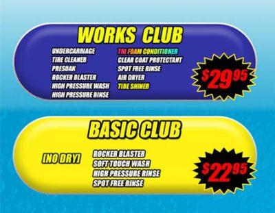 Wash Club Pass